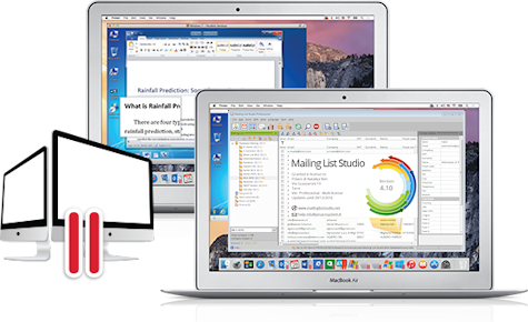 Installation Mailing List Studio for Apple OSX